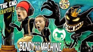 King Bendy & The Glitch Machine! Fgteev Gurkey Turkey Chapter 5 Ending The Last Reel Ink