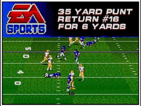 College Football USA '97 (video 161) (Sega Megadrive / Genesis)