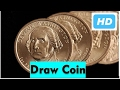 How to Easy Draw Coin