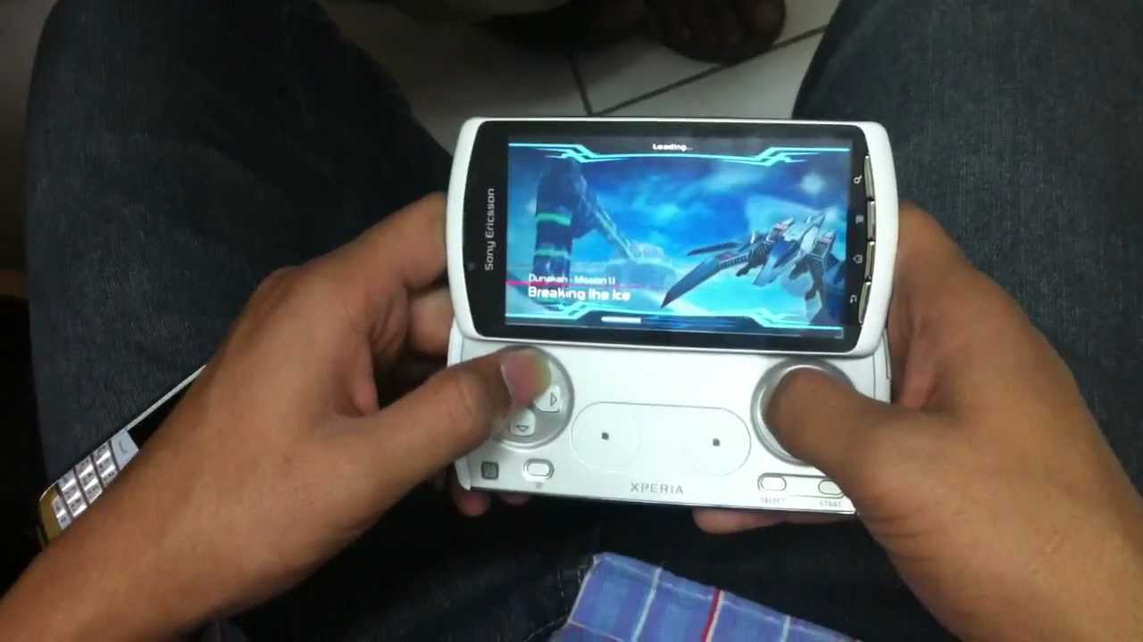 Sony Psp Games To Play : Sony ericsson xperia play psp game with new look youtube