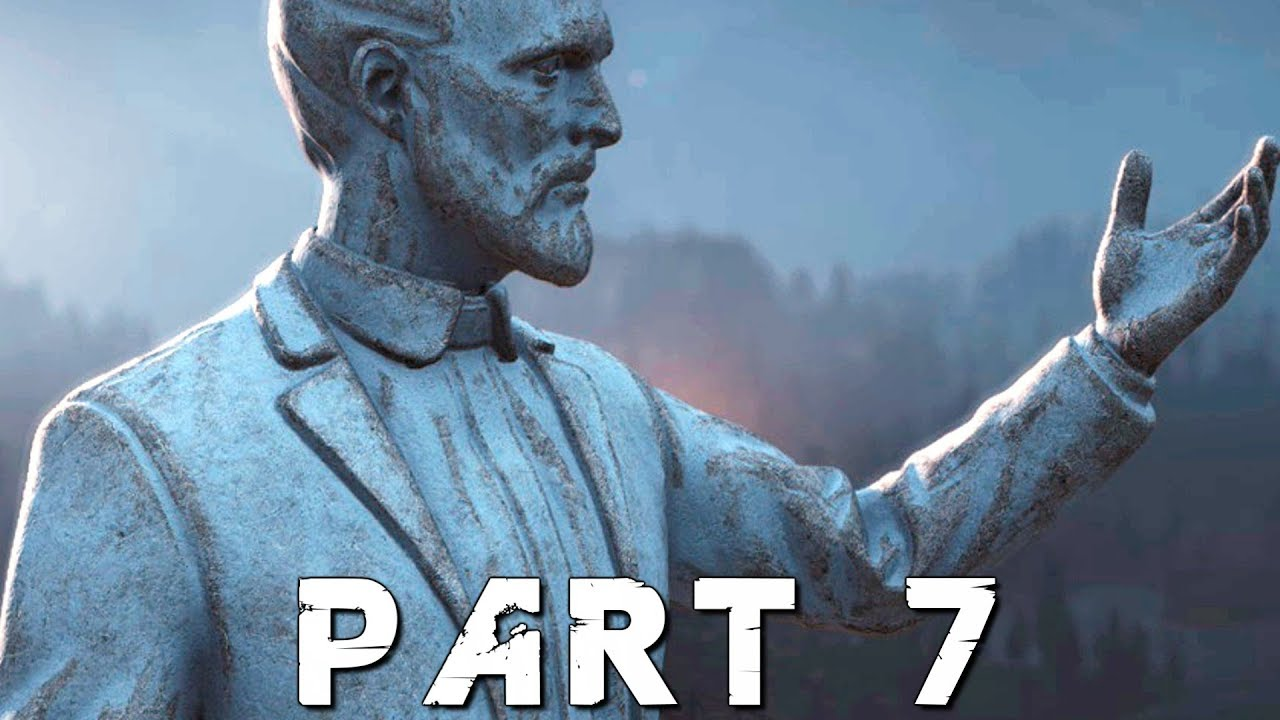 Far Cry 5 Walkthrough Gameplay Part 7 Father S Statue Ps4 Pro