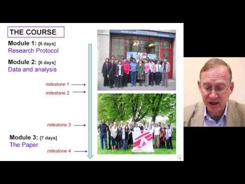Module1 - Day 1 - 1 - The Union/MSF model for sustainable operational research (OR)
