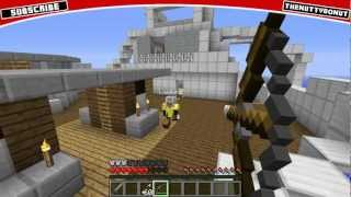 Hijacked Map on Minecraft + PVP Mini-Game! (Black Ops 2 Map on Minecraft)
