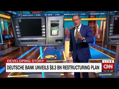 Deutsche Bank unveils $8.3 billion restructuring plan