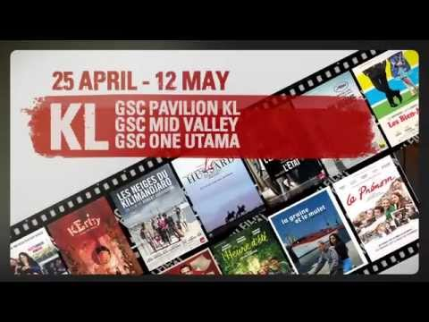 French Art and FIlm Festival 2013 in Malaysia trailer Travel Video