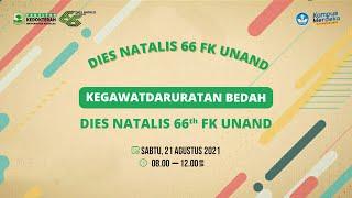 Kegawatdaruratan Bedah Part 1 | Dies Natalis 66th FK Unand