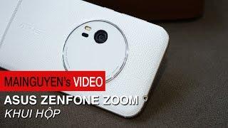 khui hop asus zenfone zoom - may dep camera zoom quang 3x gia 135 trieu dong