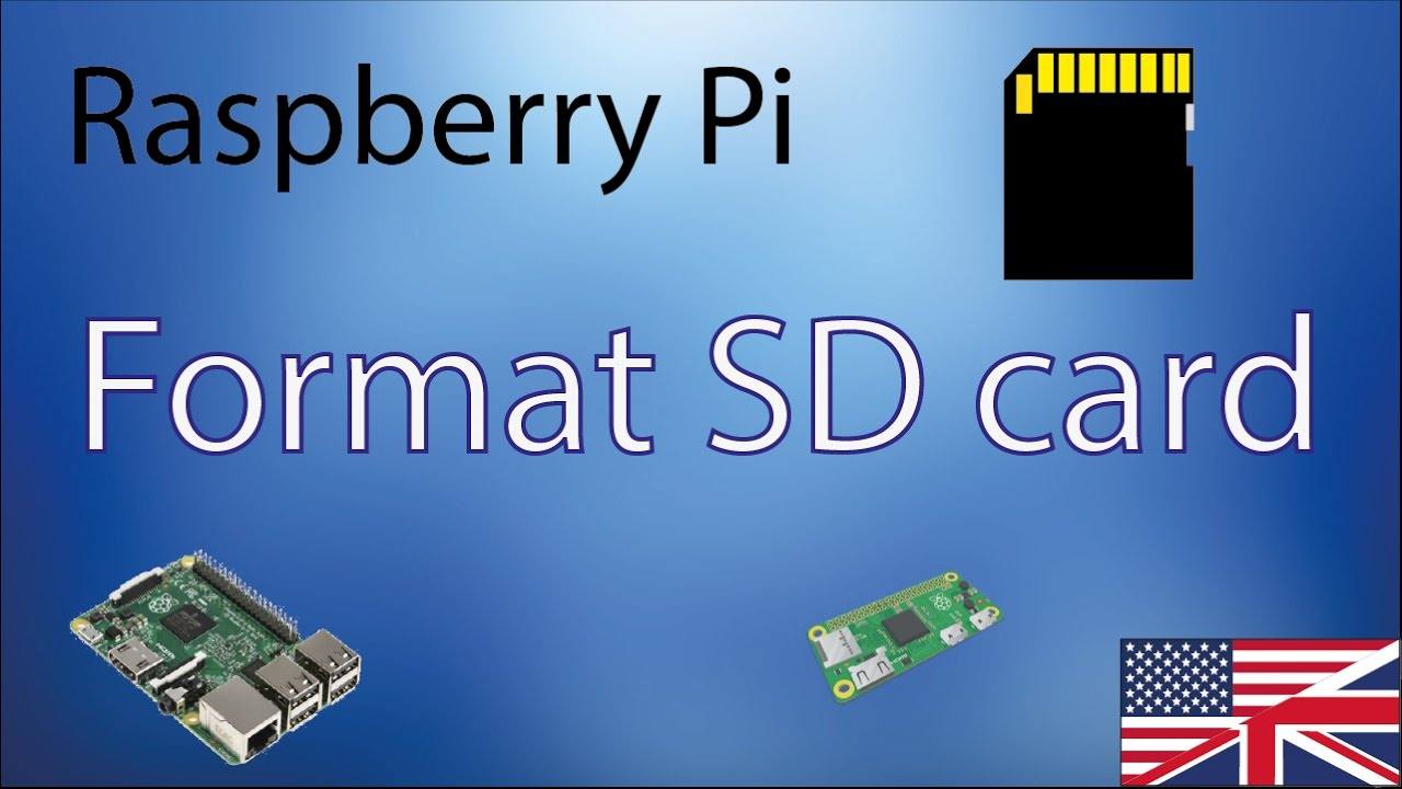How to format Raspberry Pi SD card [4K]