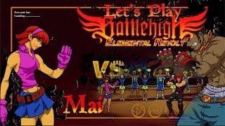 Battle High San Bruno - Mai (Playthrough)