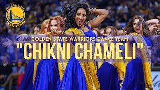 CHIKNI CHAMELI Dance | KATRINA KAIF| NBA Bollywood Routine | Golden State Warriors Dance Team