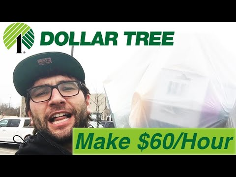 $60/Hour Dollar Tree Arbitrage Hacks! Earn Easy Money Without A Job!