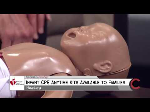 Infant CPR - American Heart Association - October 9, 2018