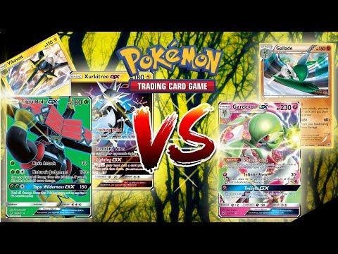 Tapu Bulu GX/Vikavolt/Xurkitree GX VS. Gardevoir GX/Gallade - Pokemon TCG