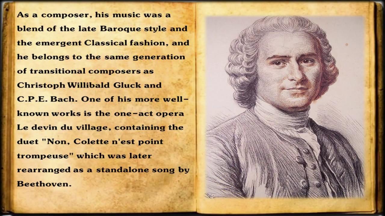 Jean Jacques Rousseau Biography