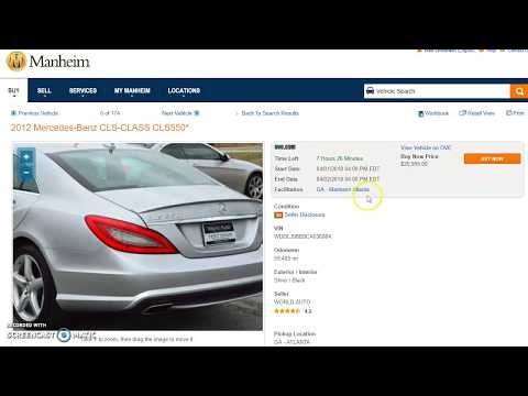 How to buy cars from Manheim Dealer Auction (part 1)