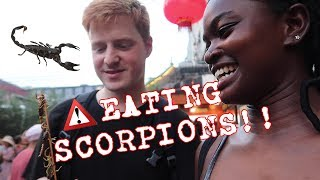 EATING SCORPIONS & SHAKU SHAKU ON THE GREAT WALL | CHINA