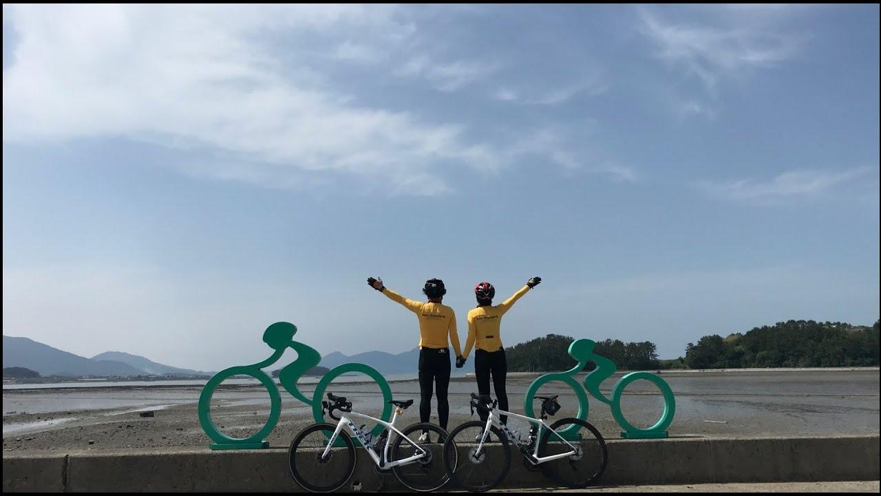 2020.05.23 인사이드 남해 자전거여행 (라이딩거리 : 103km, 누적고도:1023m)