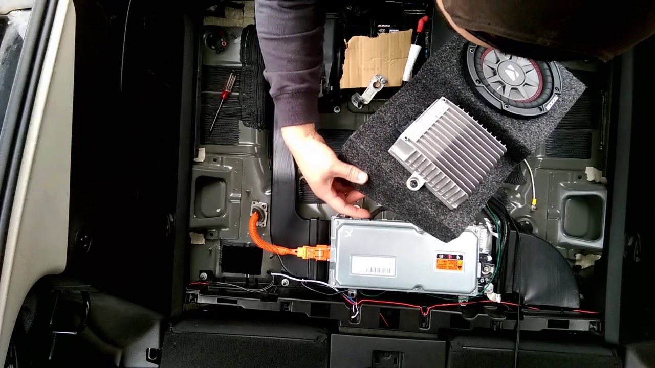 small resolution of gen 1 chevy volt bose sub upgrade