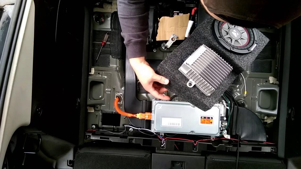 hight resolution of gen 1 chevy volt bose sub upgrade