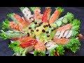 Популярная АЗИАТСКАЯ закуска - СПРИНГ РОЛЛЫ, 7 вариантов начинок