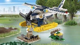 Water Plane Chase Set / Pościg Hydroplanem Policyjnym - Lego City - 60070 - Megadyskont.pl