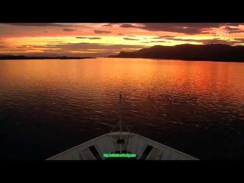 Sea Route FLORØ   Maloy in Norway in ten minutes