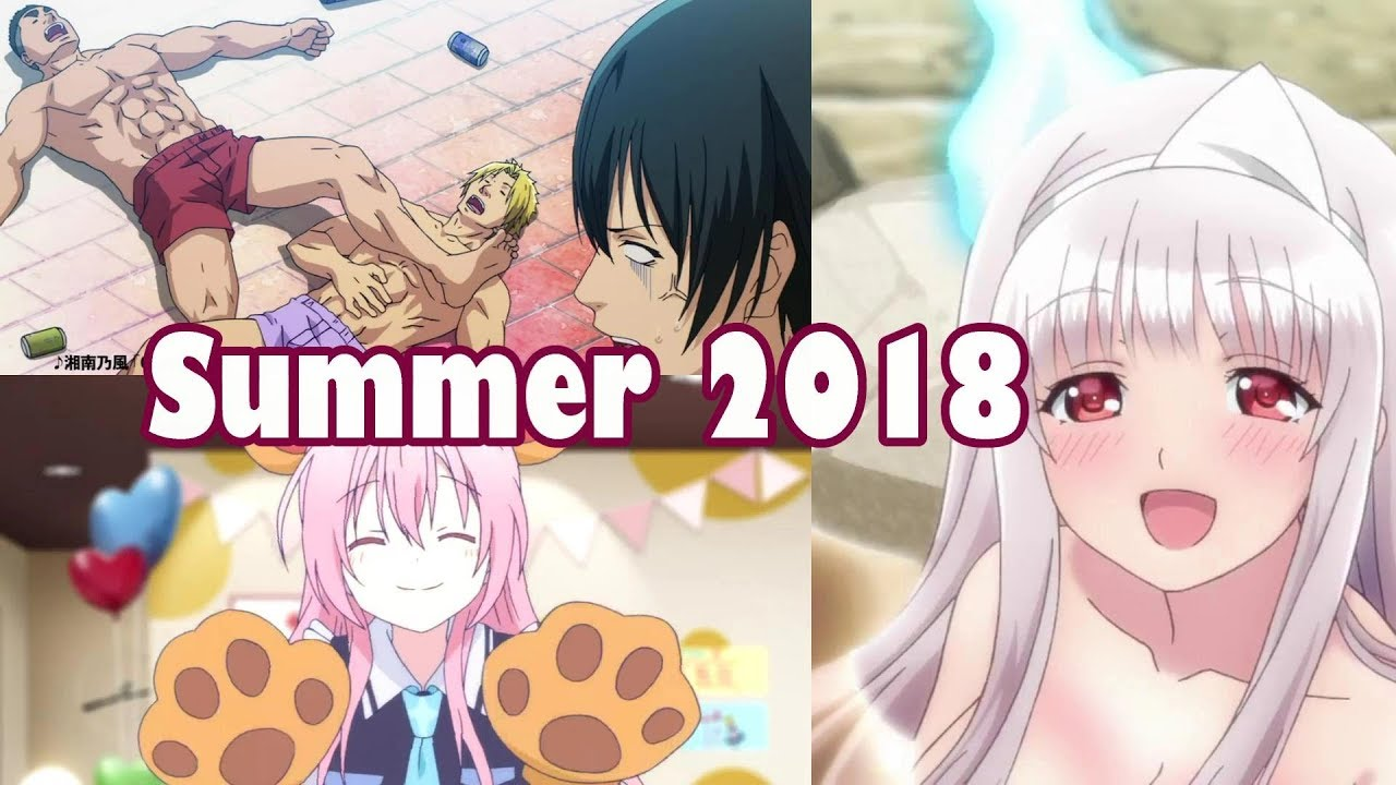 Summer 2018 Anime Is About To Get WEIRD In A Good Way