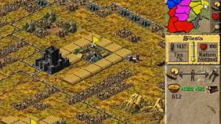 Lords of the Realm 2 Walkthrough - 08 Germany (Final Level) PC Longplay