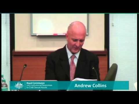 Andrew Collins Ballarat May 21 2015