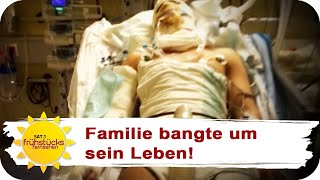 MOTORRADUNFALL: Kampf zurück ins Leben | SAT.1 Frühstücksfernsehen