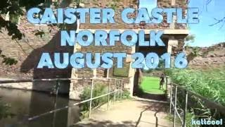 Visit To Caister Castle Norfolk England