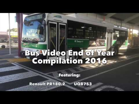 Bus Video End of Year Compilation 2016 (Transperth)