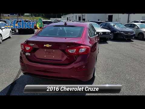 Used 2016 Chevrolet Cruze LT, Reading, PA 7169Z