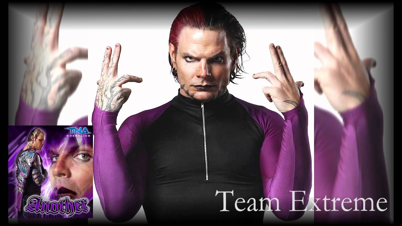 "2012: jeff hardy 10th and new tna theme song ""similar creatures."