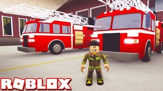 FIGHTING FIRES in ACCELERATE V4! *NEW JOBS UPDATE!* (Roblox)