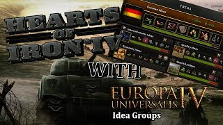 HOI4 WITH EU4 IDEA GROUPS - All Communist - Max boosted Enemies! - Part 1