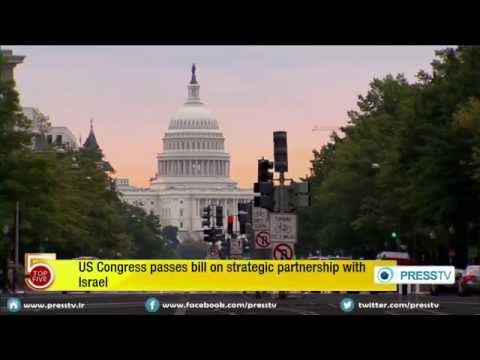 December 2014 Breaking News USA Israel Military strategic partnership congress passes bill