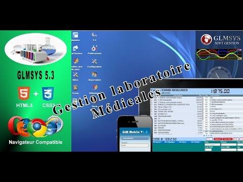 Gestion Laboratoire Medicals GLM V5