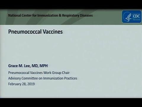 June 2019 ACIP Meeting - Pneumococcal Vaccines