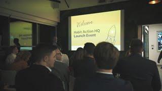 HabitAction Launch Event