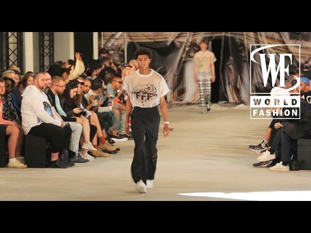 Off-White Spring/Summer 2017 Paris Men`s Fashion Week