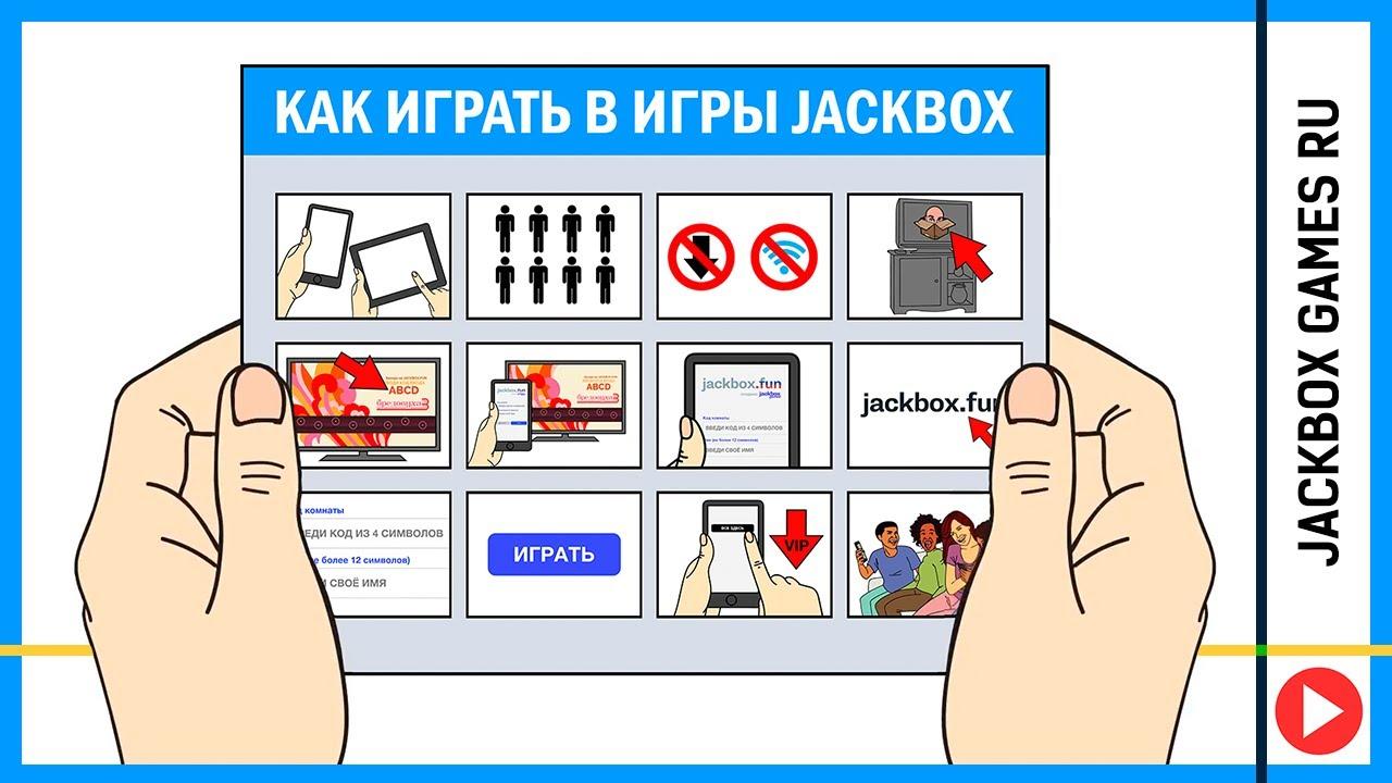 Как играть в Jackbox Games? (RU) - YouTube