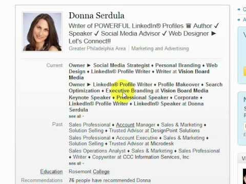 How to Add Bullets & Symbols to Your LinkedIn Profile