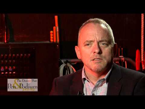 Dennis Lehane - Backstage at Pen and Podium