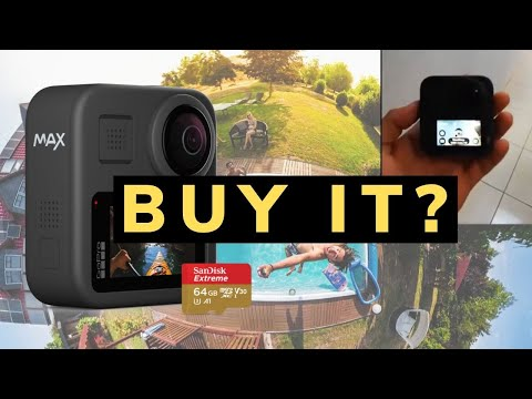 Should you buy GoPro MAX? 🔥🔥🔥 16 Features + Weaknesses + Specs