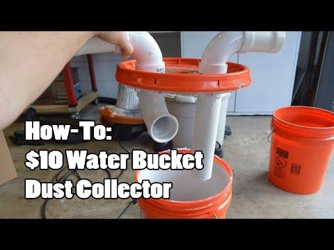 Building the two-bucket cyclone | Doovi