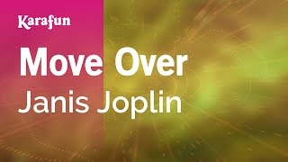 Karaoke Move Over - Janis Joplin *