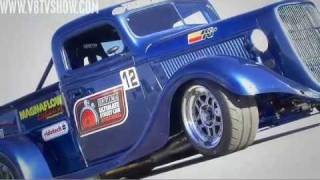 Cool Trucks at 2010 Optima Ultimate Street Car Invitational Video V8TV