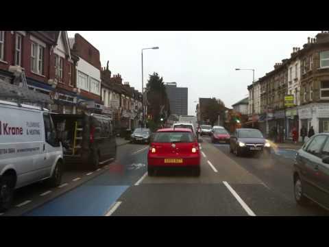 London streets (254.) - Endlesham road (SW12) - juction A3 - M25