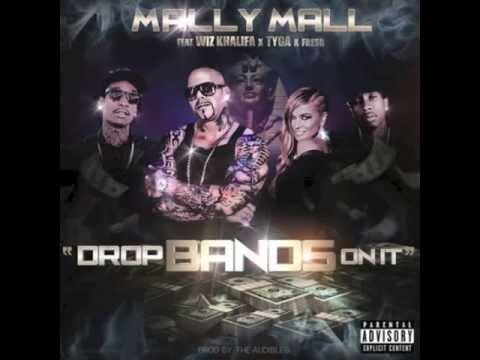 Mally Mall Feat. Wiz Khalifa & Tyga - Drop Bands On It Instrumental Remake [Download Link]